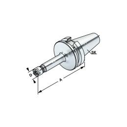 Kovametallipora nestekanavilla 10xD, 3-20,0mm